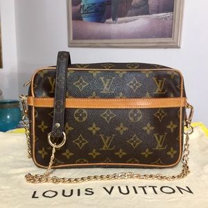 Louis Vuitton Compiegne 23 Shoulder Bag-Vachetta